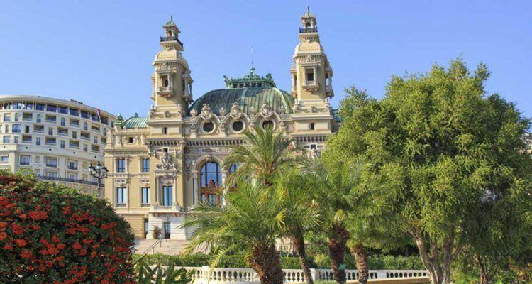 Opera de Monte-Carlo, Monaco.
