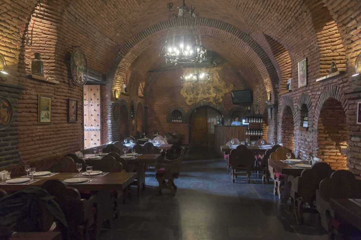 old walls restaurant tbilisi