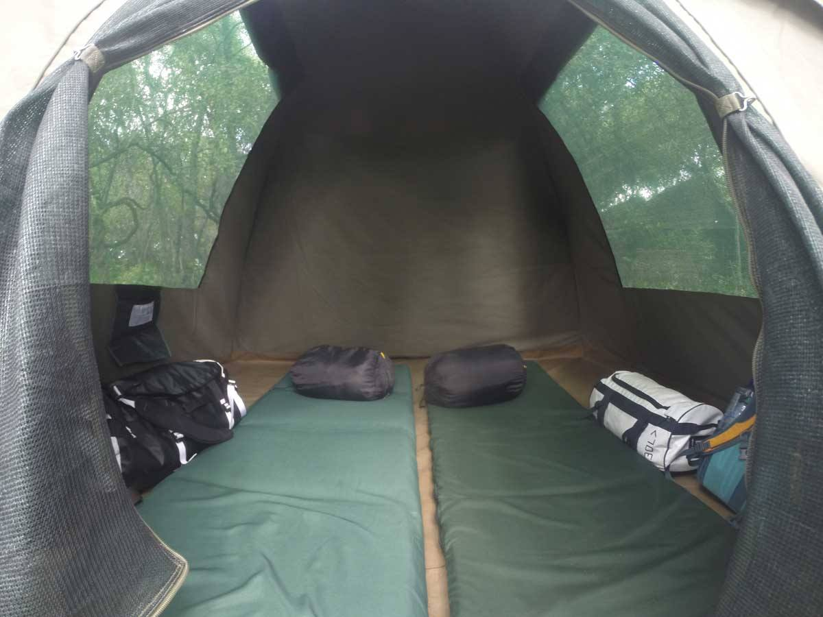 wild dog tents namibia camping