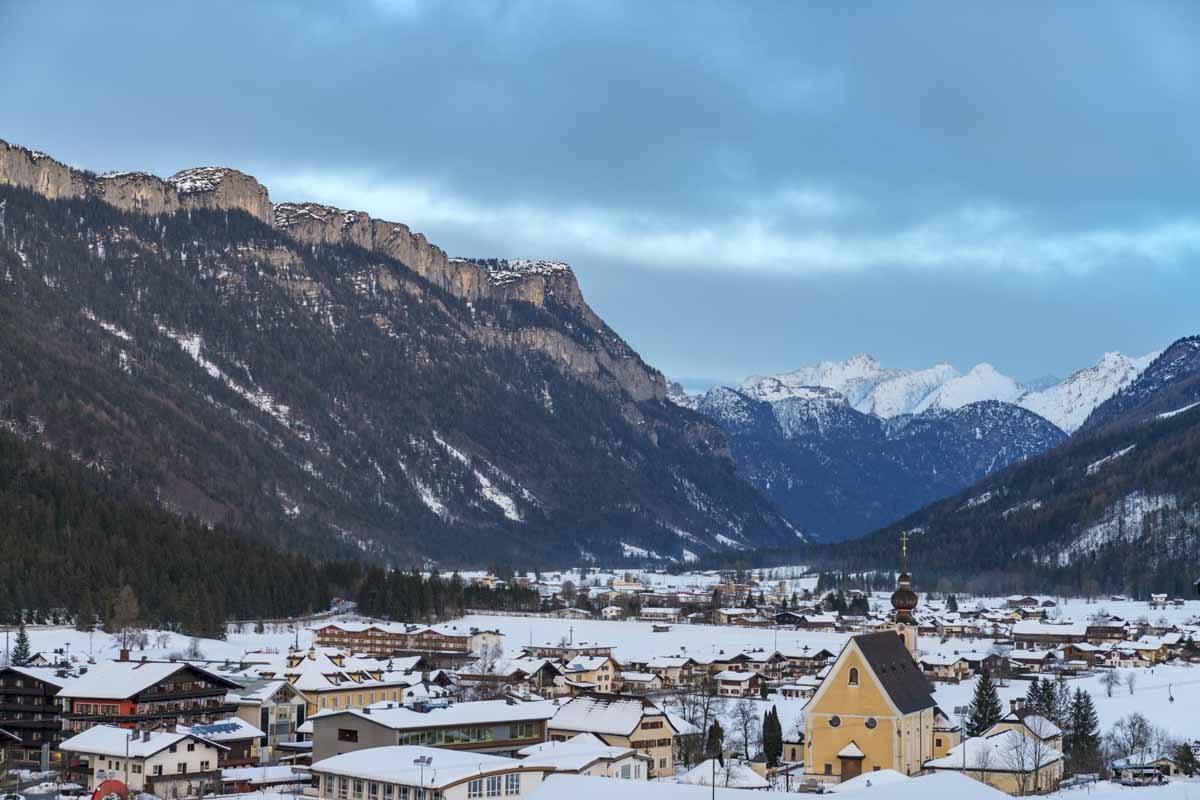 pillerseetal in winter tirol