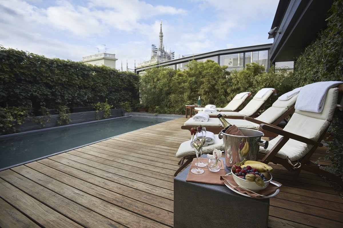 Where to stay in milan best hotels the crowded planet for Hotel a milan avec piscine
