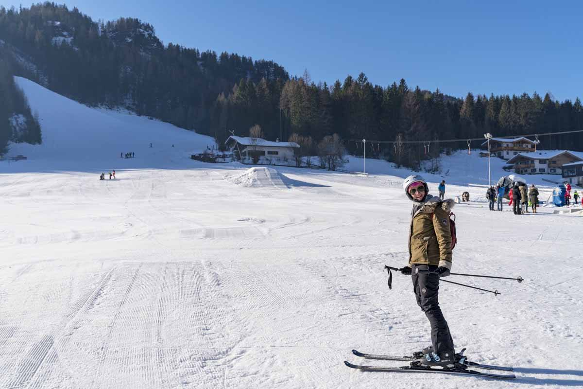 skiing in tirol austria