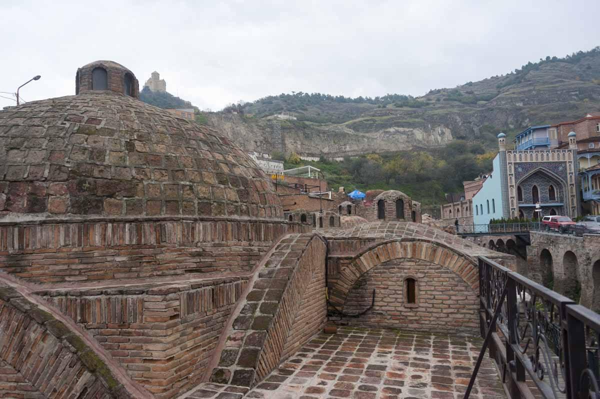 sulphur baths old town tbilisi abanotubani