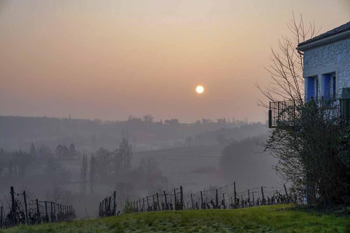 chateau feely sunrise