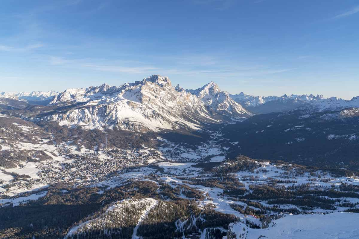cortina winter view from ravalles