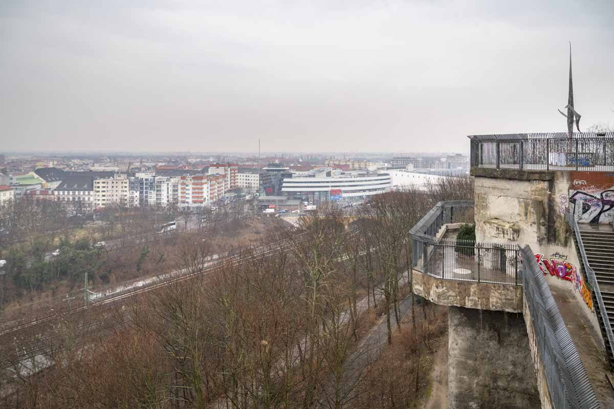 flaktower gesundbrunnen berlin