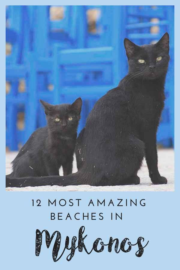 best mykonos beaches pin