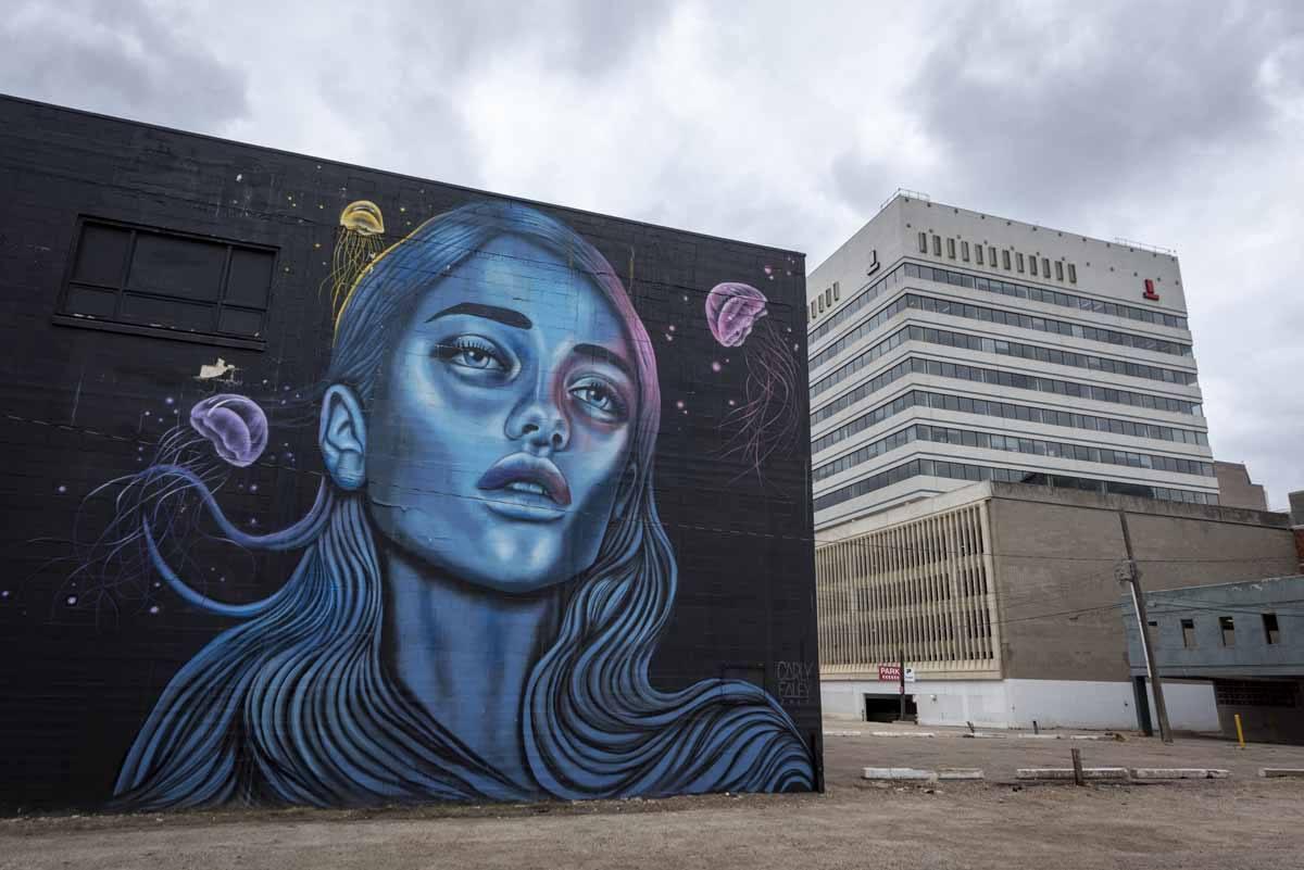 edmonton street art wall