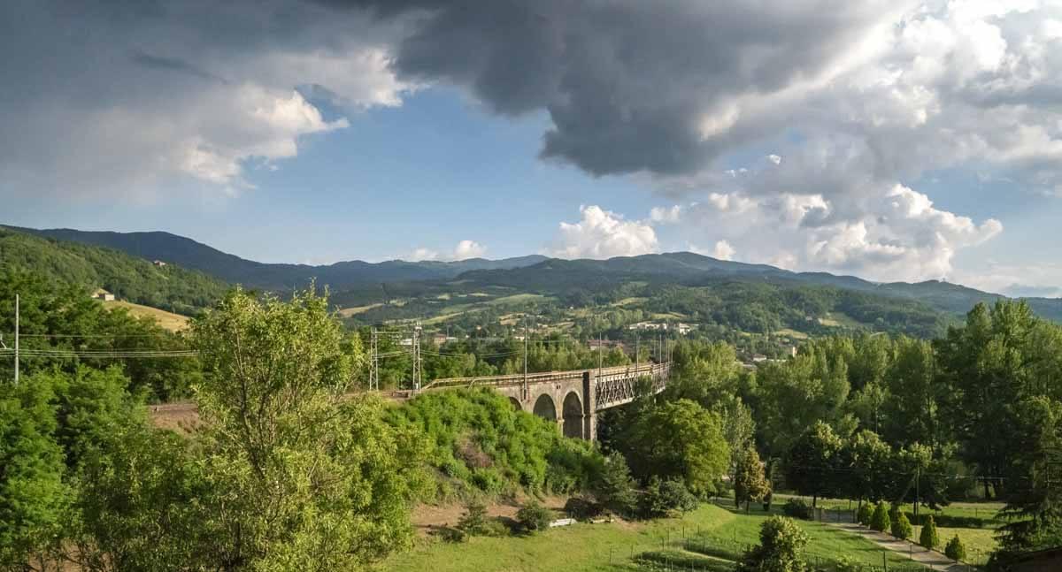 borgotaro train bridge