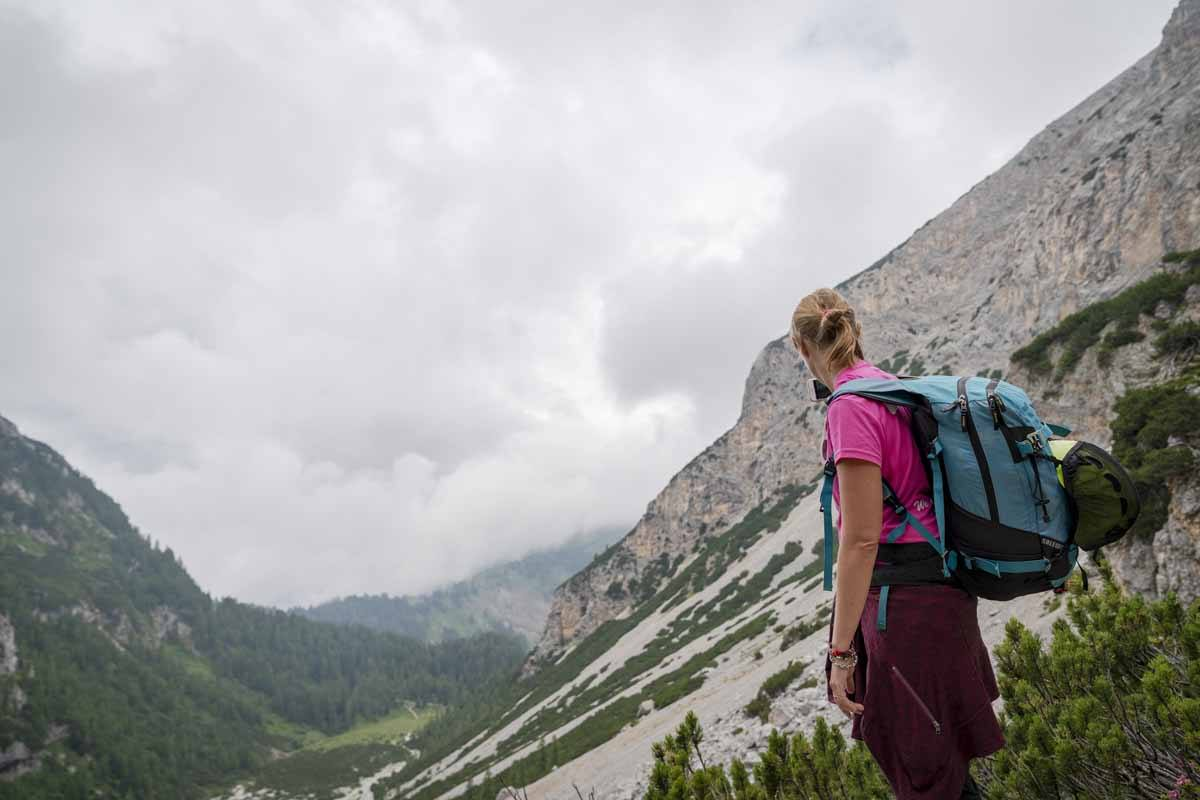 hiking italian alps trentino
