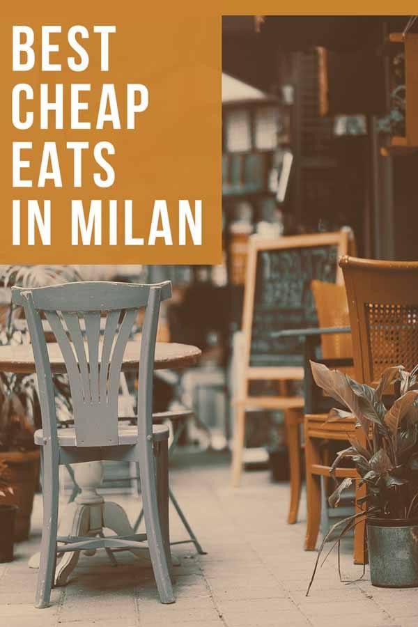 milan cheap eats pin