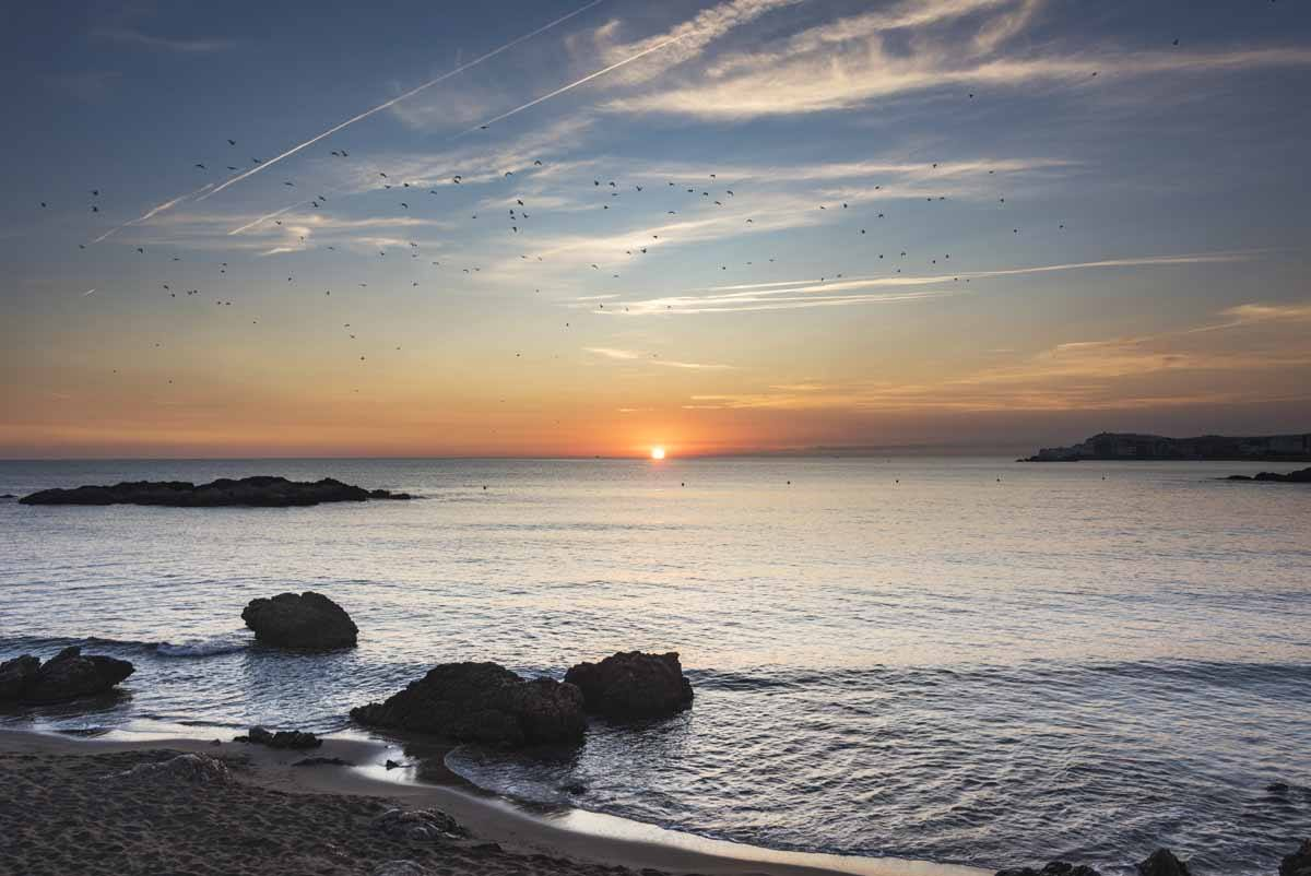 empuries sunset costa brava