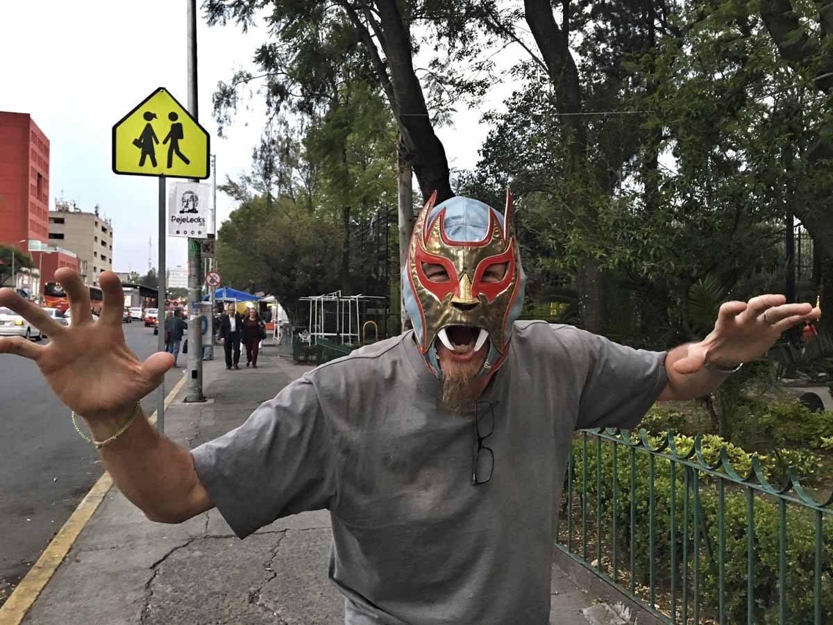lucha libre mask mexico city