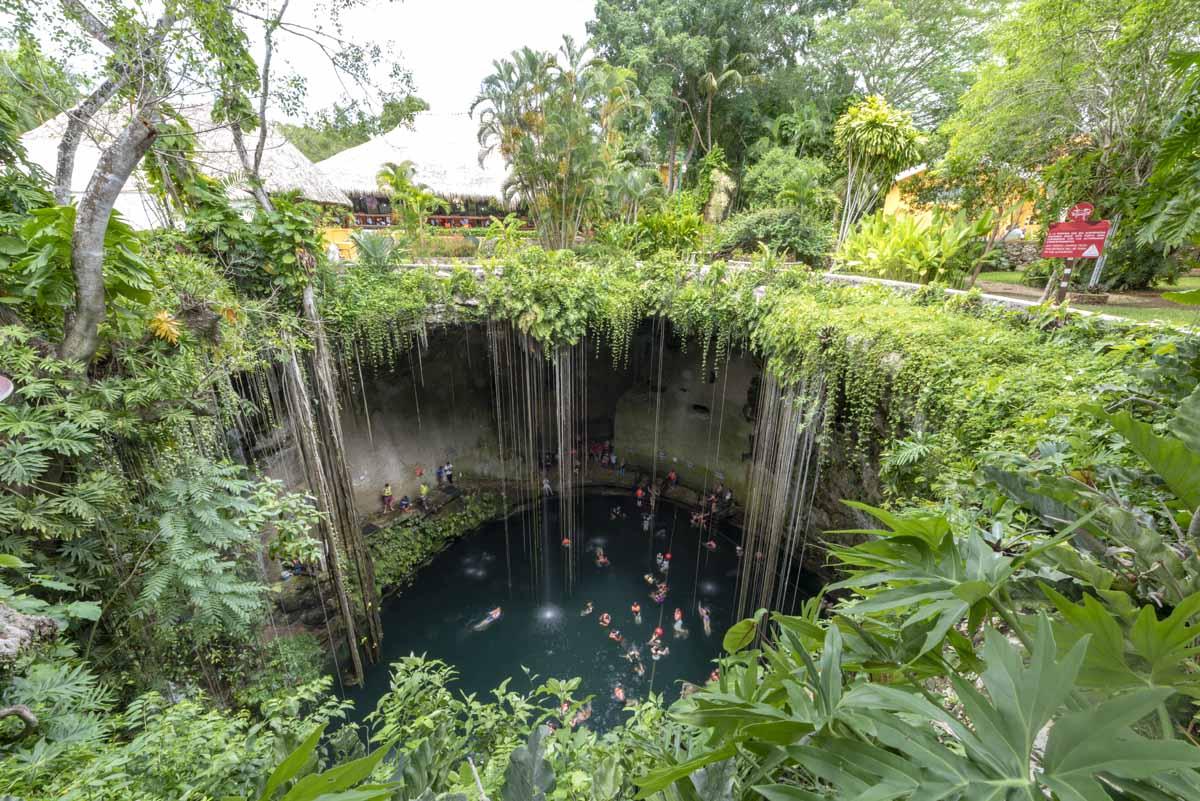 best cenotes near valladolid