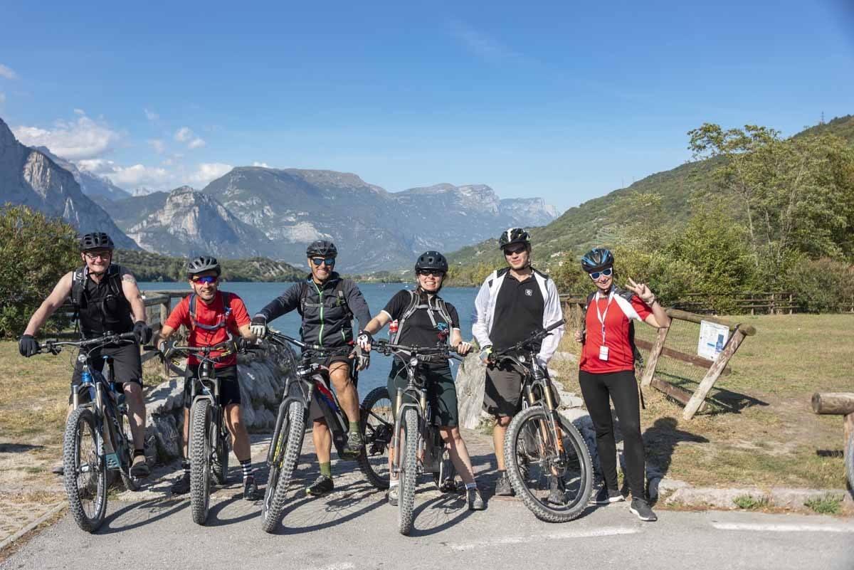 emtb mountain bike group garda