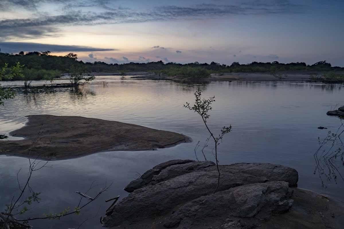 creek sunrise guyana rupununi