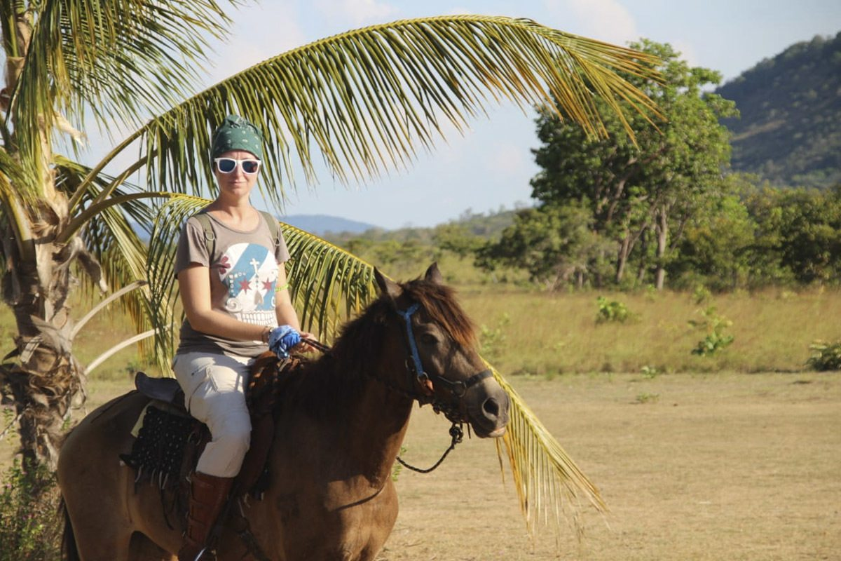 hourse riding guyana marghe