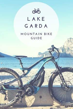 mountain bike in lake garda guide
