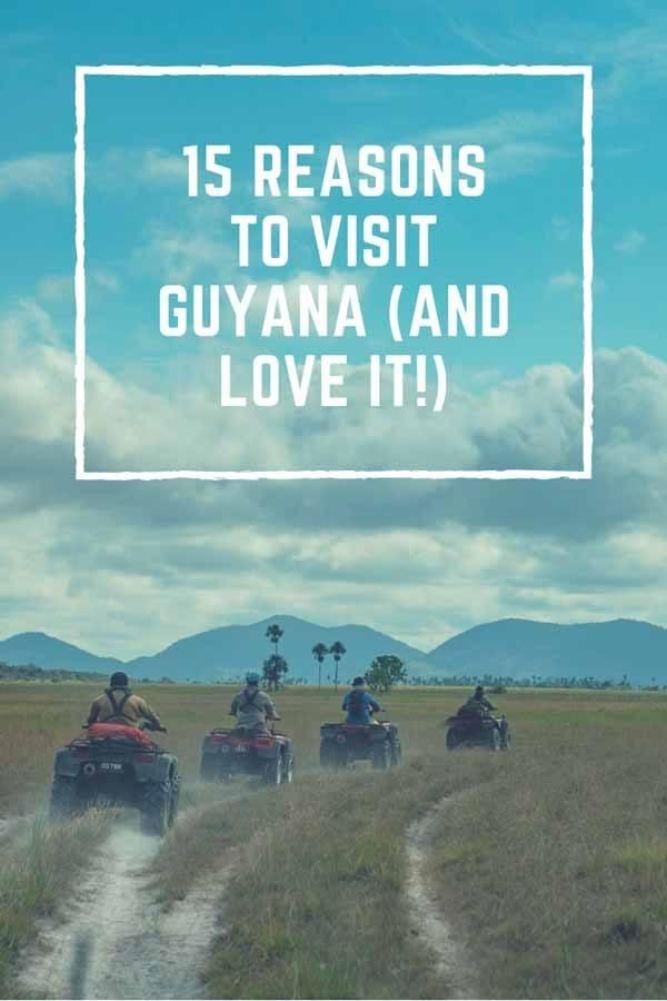 reasons to visit guyana pin