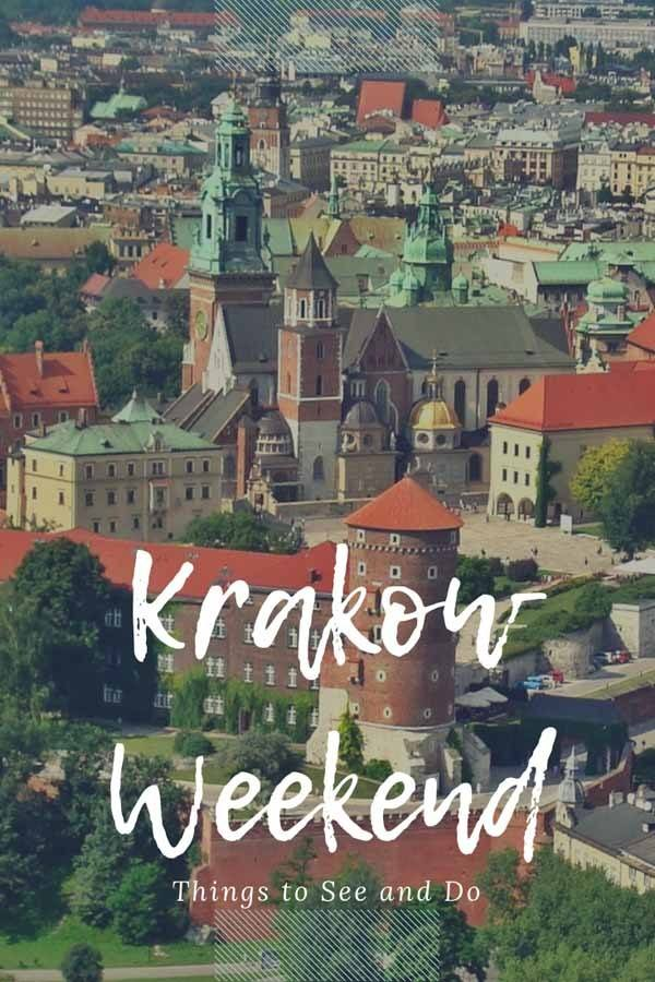 weekend in krakow pin