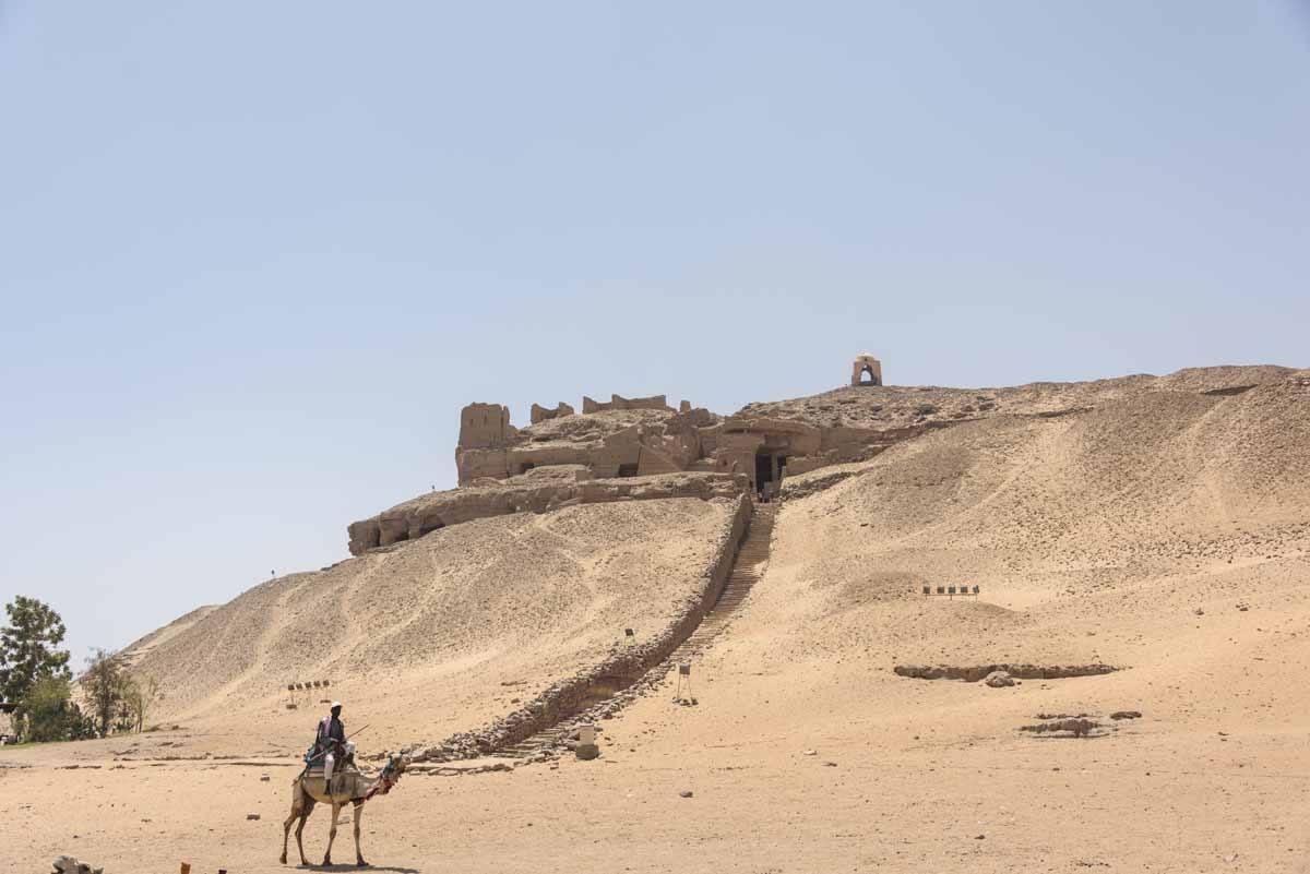 aswan desert landscape