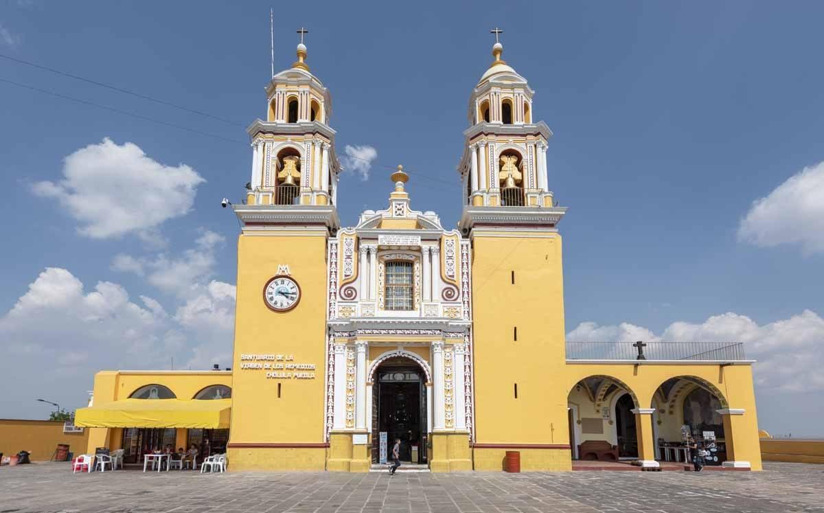 Puebla Cholula day trip mexico city