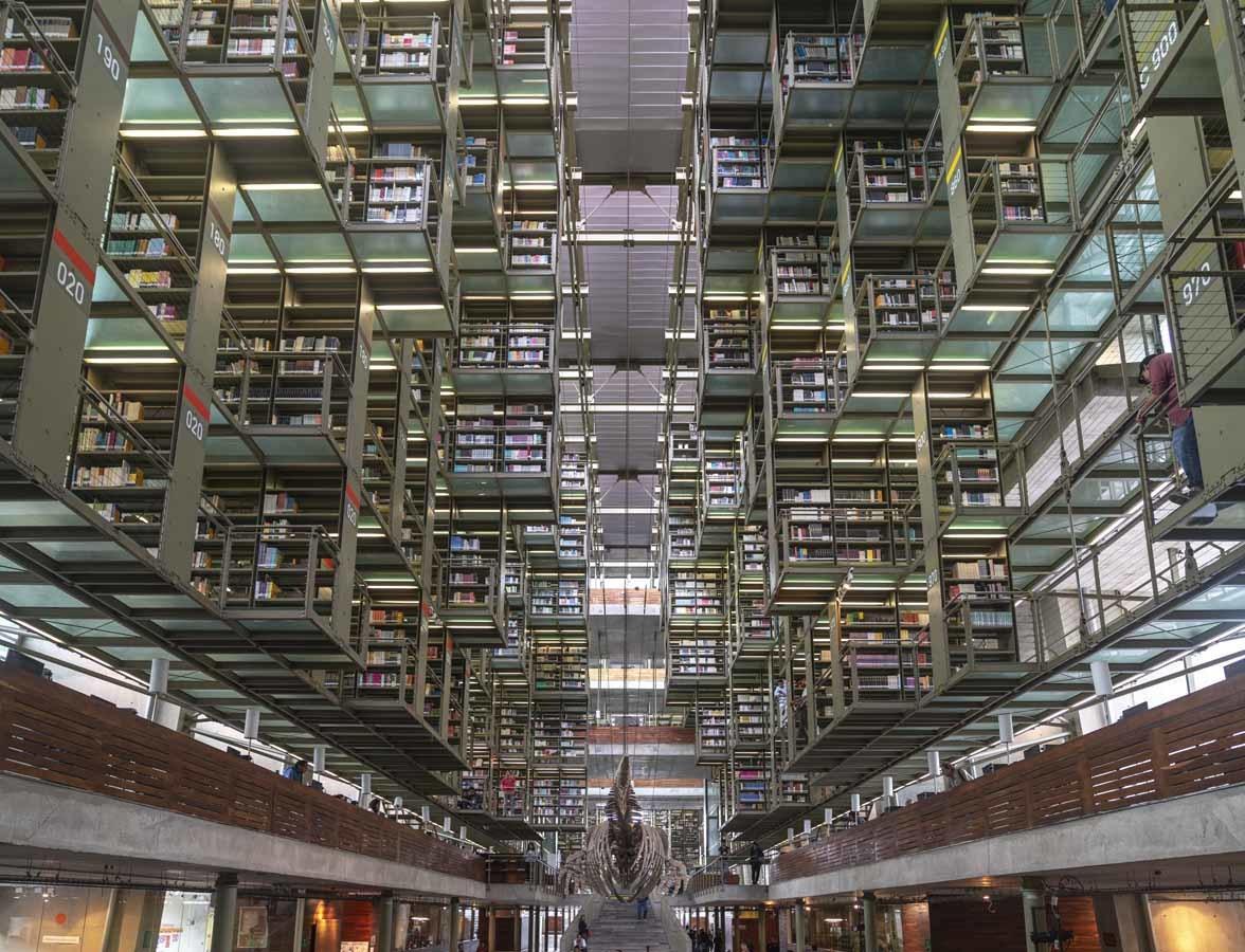 vasconcelos library mexico city