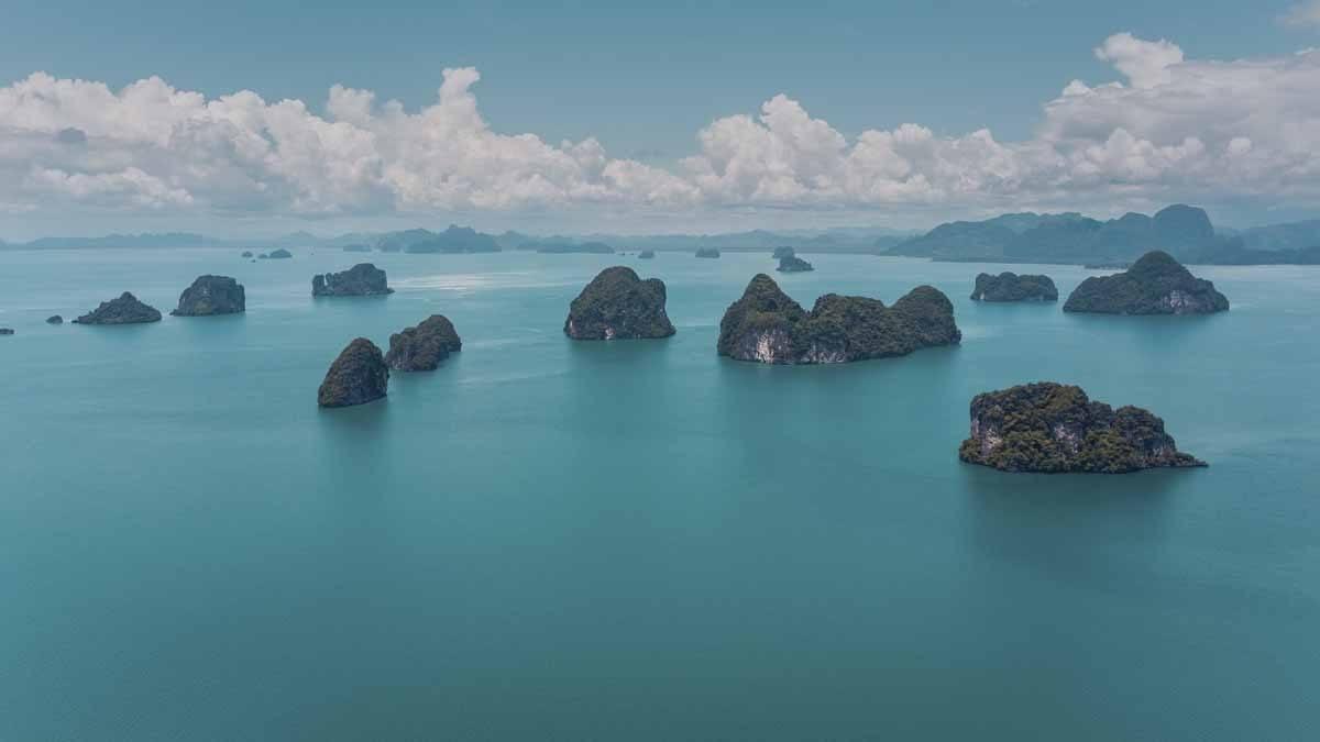 thailand islands blue sea