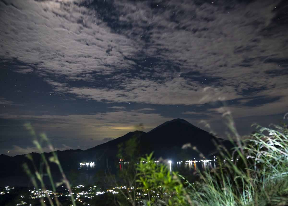 mount batur night