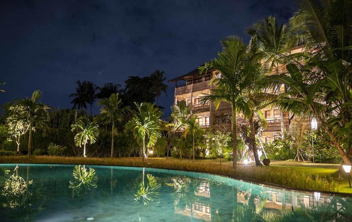 alaya hotel ubud pool