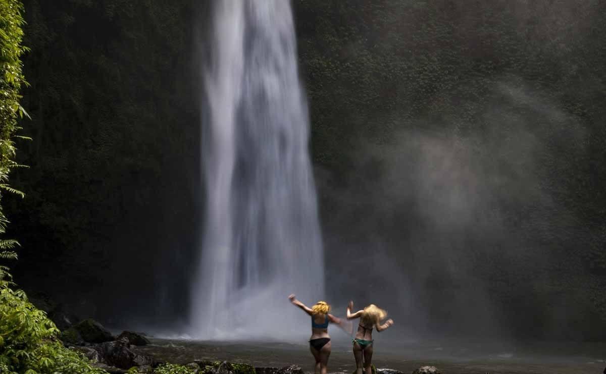 best waterfalls in bali nung nung
