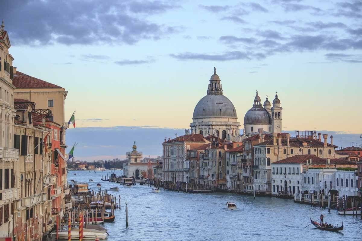 milan to venice grand canal