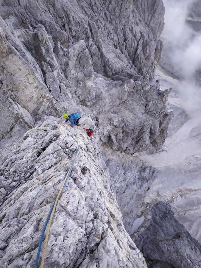 climbing vajolet towers