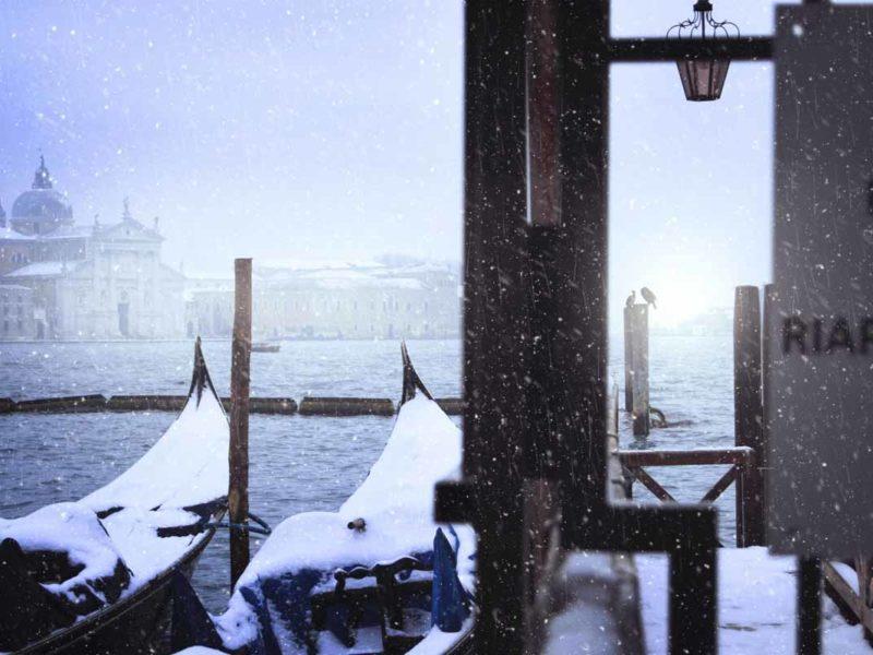 italy in winter venice