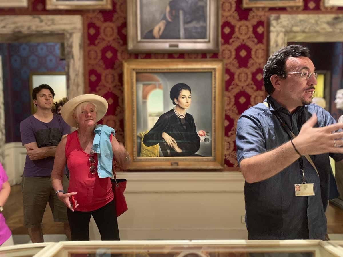 la scala museum maria callas portrait