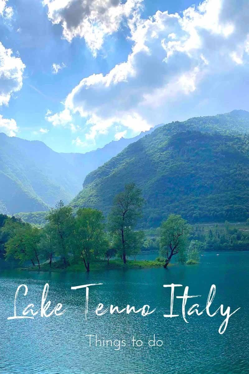 visit lake tenno italy pin