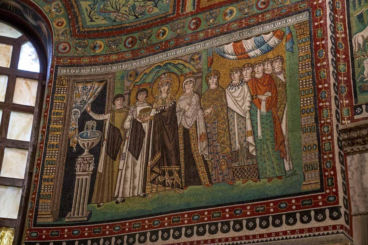 ravenna mosaic theodora
