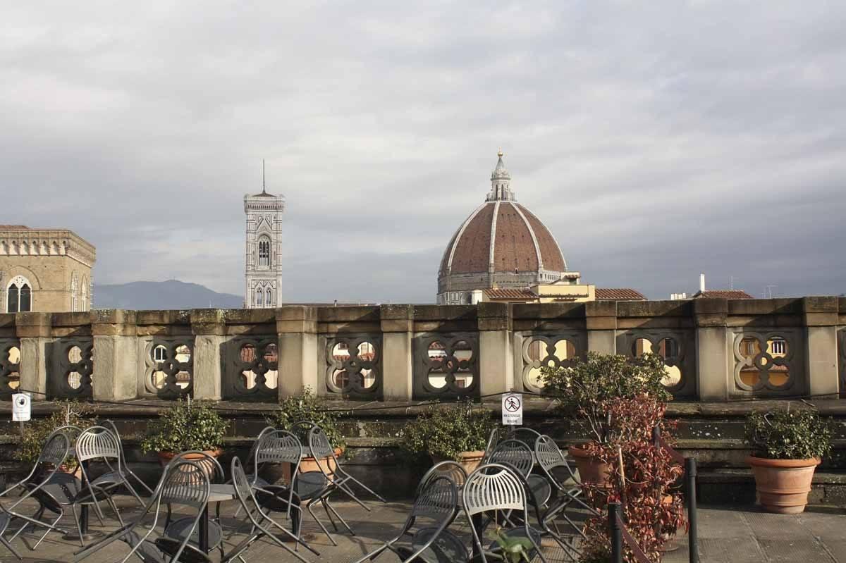 uffizi gallery roof