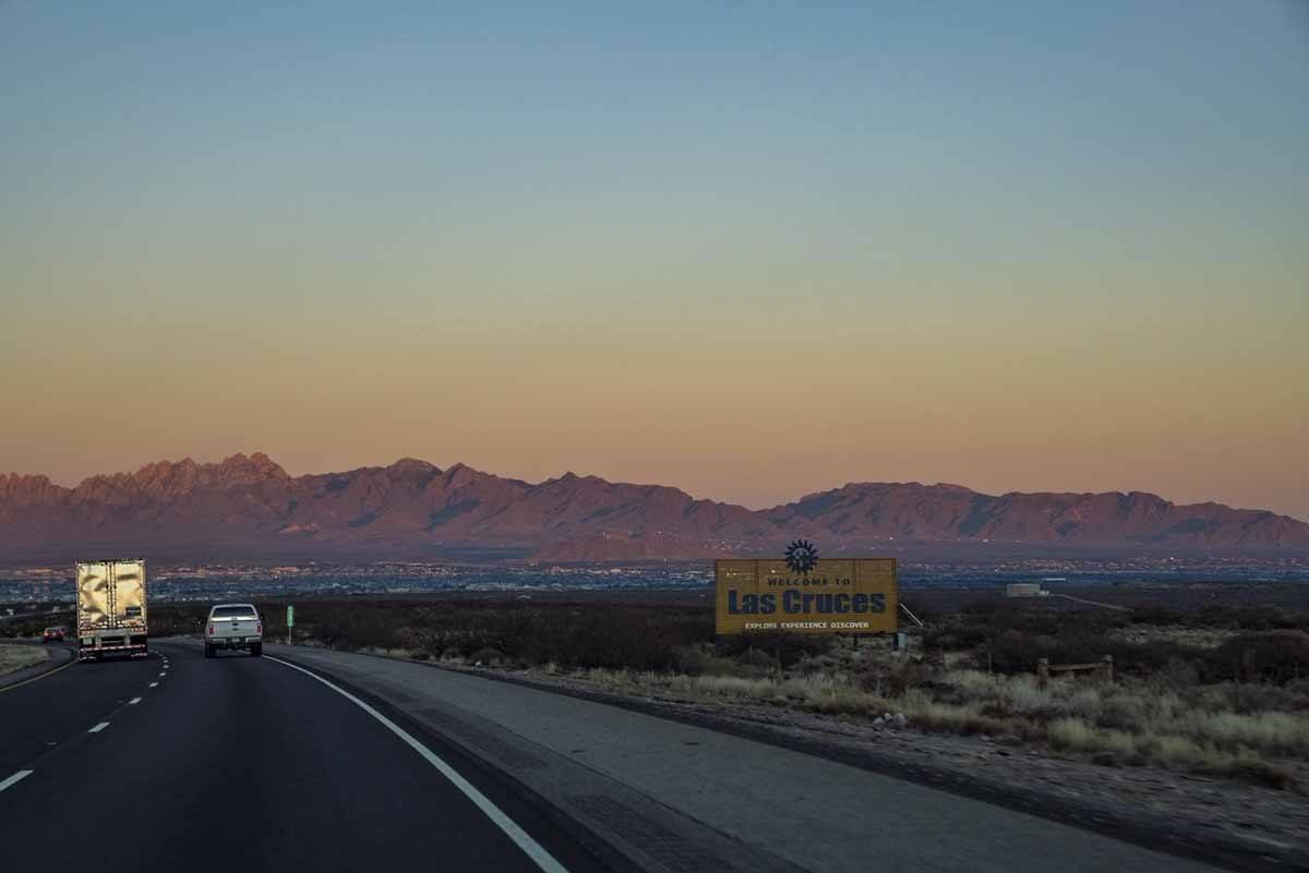 new mexico las cruces sunset