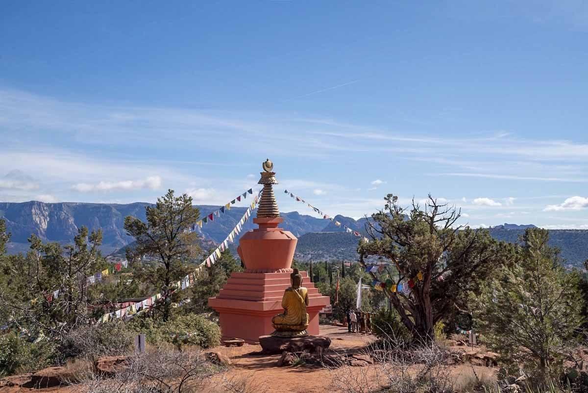 peace park stupa sedona