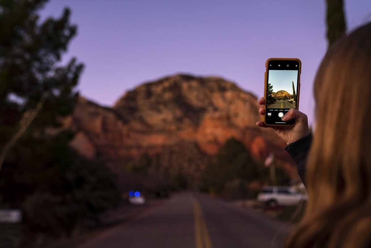 red rocks photo sedona