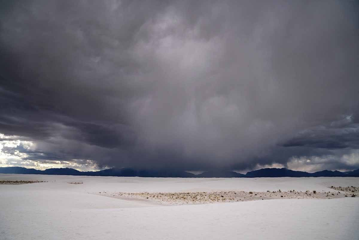 storm white sands new mexico