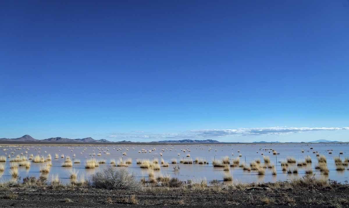 white sands lake