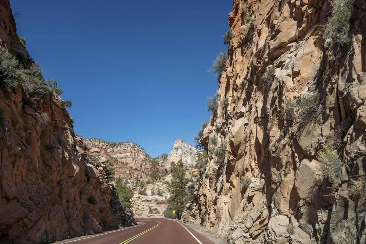 zion canyon access