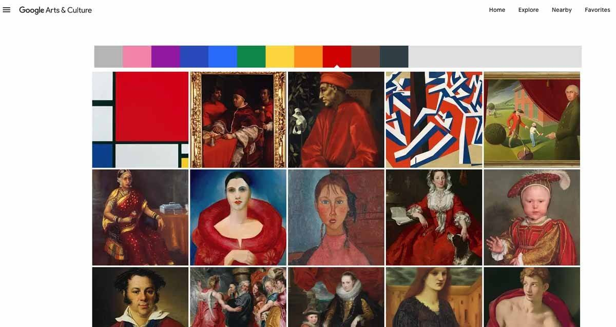 google arts and culture online experience