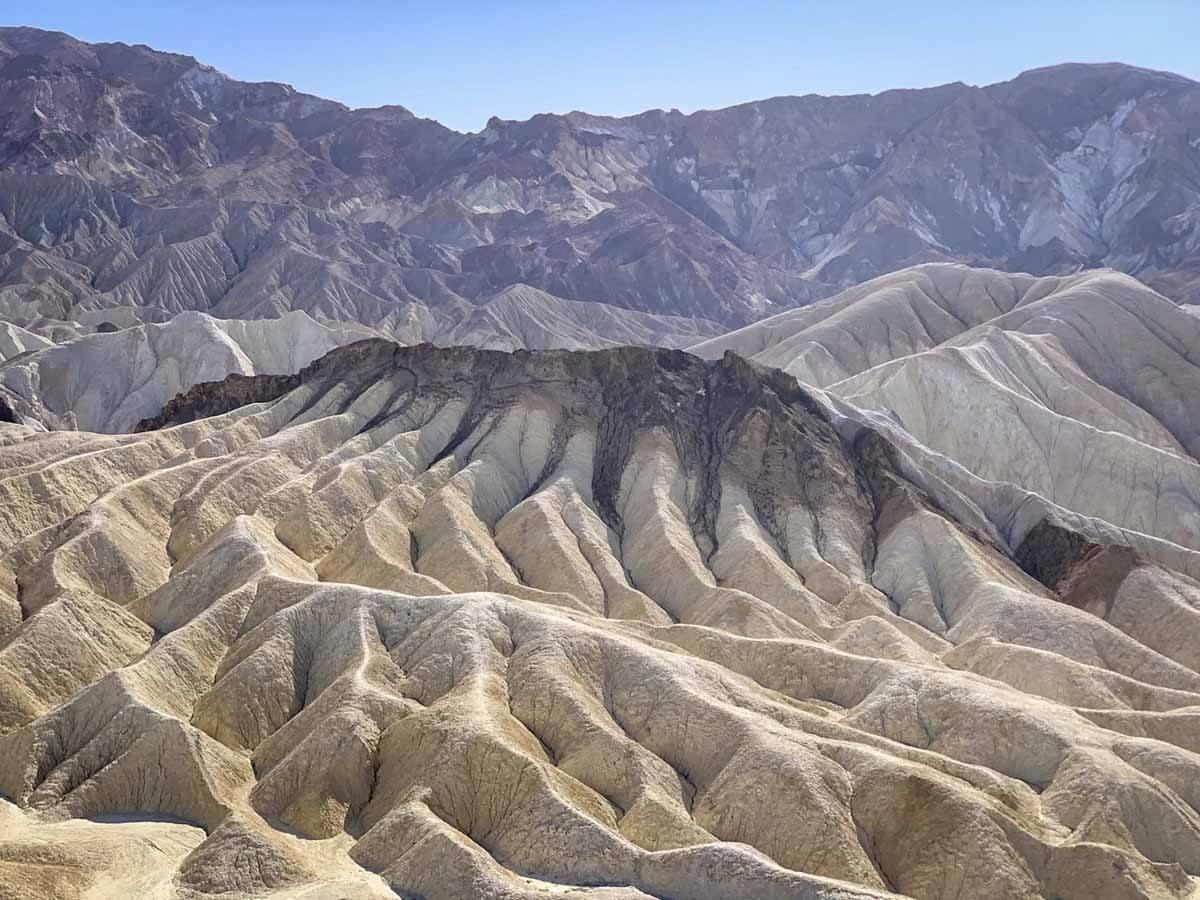 death valley zabriskie badlands