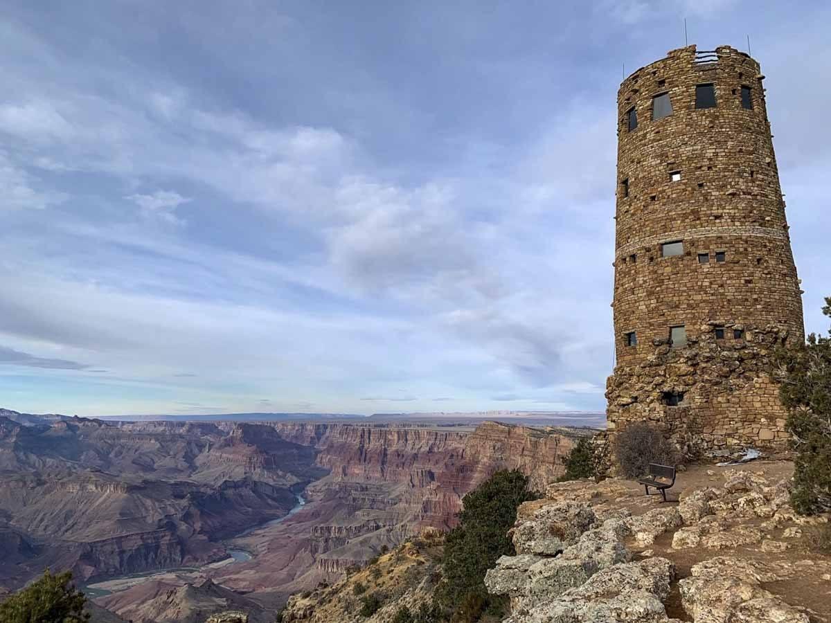 grand canyon desert watchtower