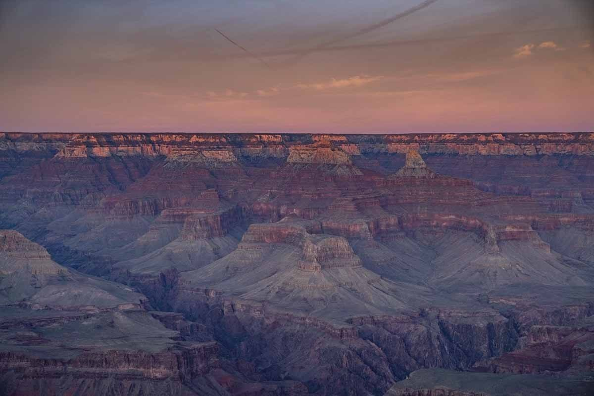 grand canyon winter disk
