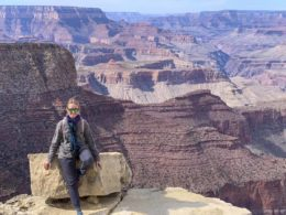 grand canyon winter viewpoint