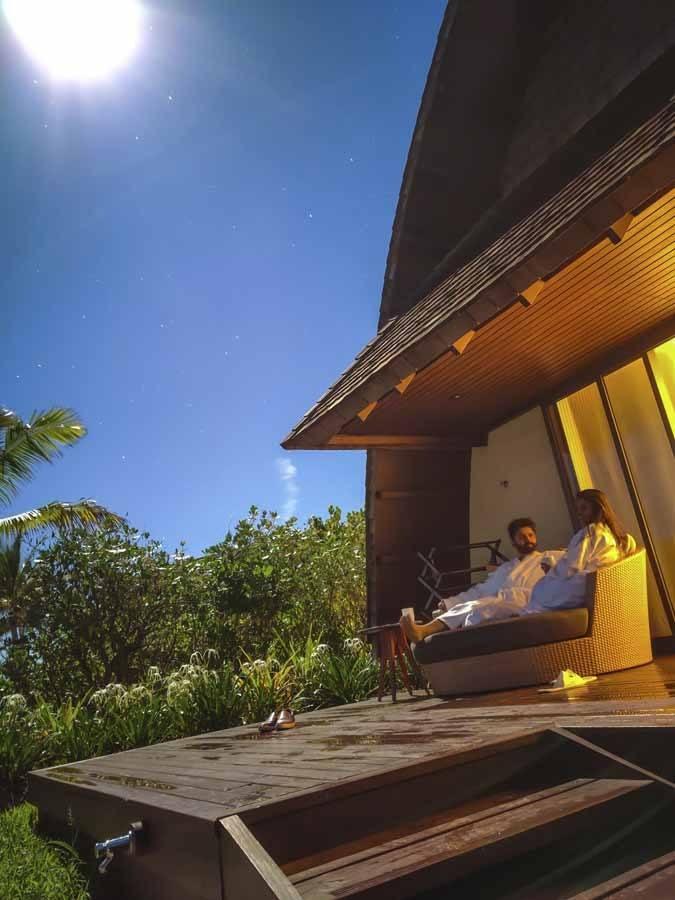 Fiji Marriott cottage night photo